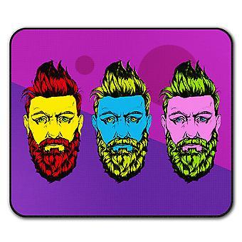 Barbe de Guy mode chic tapis anti-dérapant Pad 24 x 20 cm | Wellcoda
