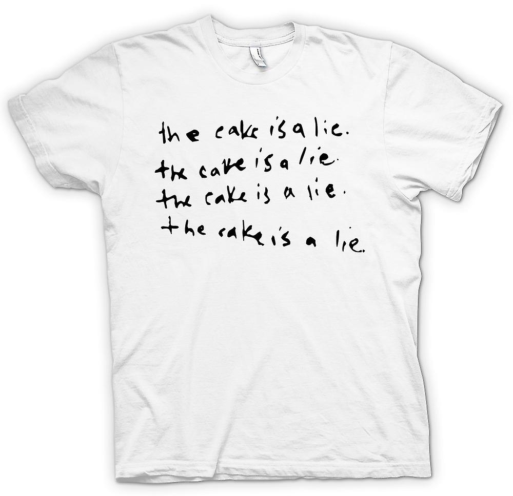 Womens T-shirt - The Cake Is A Lie - Funny