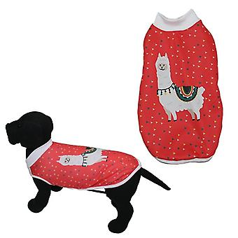MI&DOG Abrigo Capa Felpado Llama T-35 (Dogs , Dog Clothes , Coats and capes)