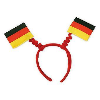 Wabbles bandeira cores de artigo fã da Alemanha Copa do mundo