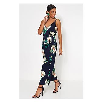 The Fashion Bible Mimi Floral Culotte Jumpsuit
