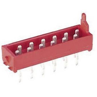TE Connectivity Pin strip (standard) Micro-MaTch Total number of pins 4 Contact spacing: 1.27 mm 7-215464-4 1 pc(s)