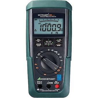 Gossen Metrawatt METRAHIT AM TECH Handheld multimeter Digital Calibrated to: DAkkS standards CAT III 1000 V, CAT IV 600