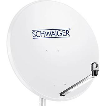 Schwaiger SPI996.0 SAT-Antenne 80 cm reflektierendes Material: Stahl hellgrau