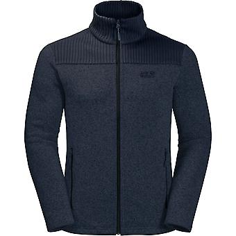 Jack Wolfskin Mens Scandic Warm Knitted Jersey Fleece Jacket Coat