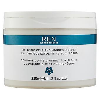 Ren Atlantic tang og Magnesium Salt anti-træthed eksfolierende bodyscrub