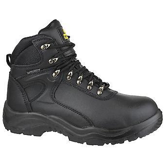 Amblers Mens FS218 Waterproof Steel Toe & Midsole Safety Boot S3-SRA