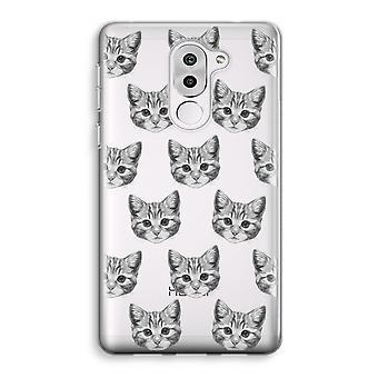 Honor 6X Transparent Case (Soft) - Kitten