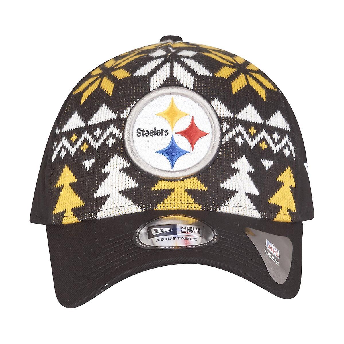 new style bea4e 21598 New era Christmas jumper Trucker Cap - Pittsburgh Steelers