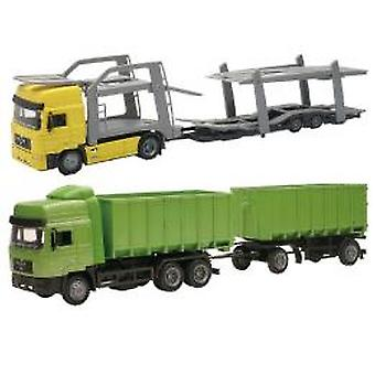 Newray 1:43 truck with trailer