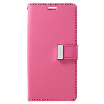 Mercury GOOSPERY Rich Diary till Samsung Galaxy S9 Plus - Rose