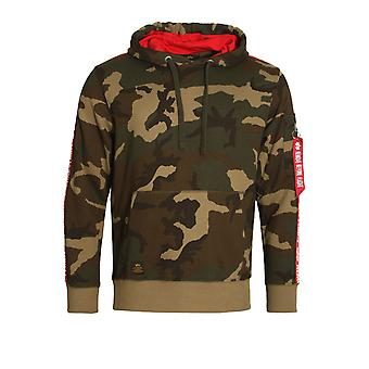 Alpha Industries X Fit Woodland Camo Hoodie