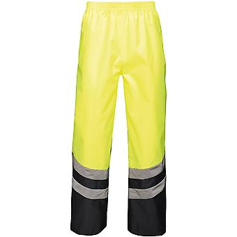 Regatta Mens Hi Vis Pro Waterproof Workwear Over Trousers