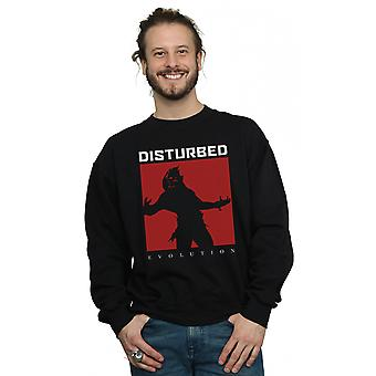 Disturbed Men's Evolution Square Sweatshirt