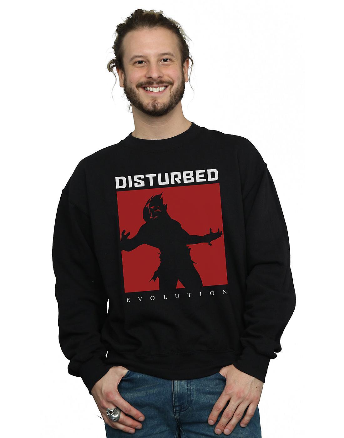 Disturbed Men's Evolution Square Sweatshirt