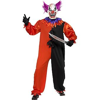 Cirque Sinister Scary Bo Bo the Clown Costume, Chest 34