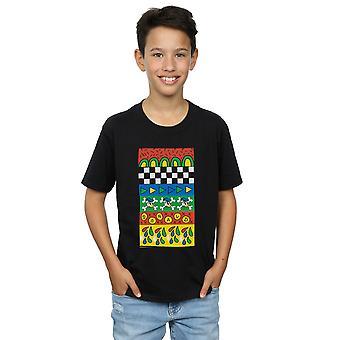 Disney Boys Donald Duck Vintage Pattern T-Shirt