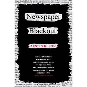 Newspaper Blackout by Austin Kleon - 9780061732973 Book