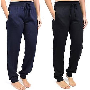 2Pk Ladies Tom Franks Sport Gym Jogging Pants Fashion Sportswear