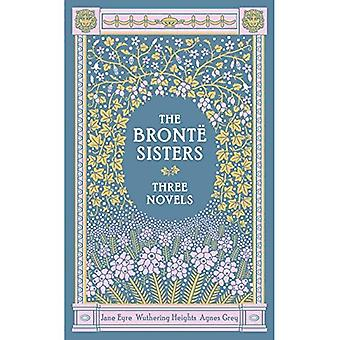 The Bronte Sisters: Three Novels (Barnes & Noble Leatherbound Classics Series)