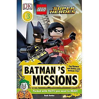 LEGO DC Comics super-héros: Missions de Batman (lecteurs DK: niveau 3)