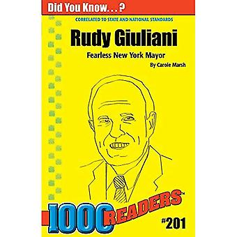 Rudy Guiliani (1000 Readers)