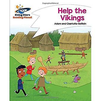 Planeet - Help de Vikingen - wit lezen: komeet Street Kids (stijgende sterren planeet lezen)
