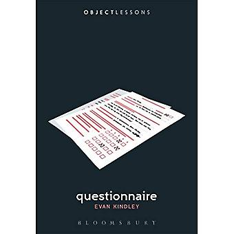 Questionnaire (Object Lessons)