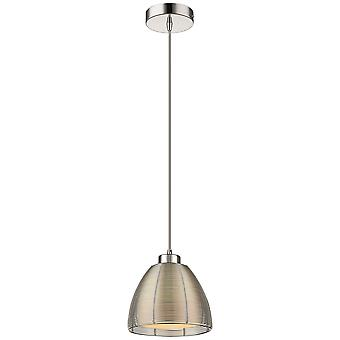 Spring Lighting - Walton Small Tapered Silver Finish Pendant  BMEH019TJ1QFOE