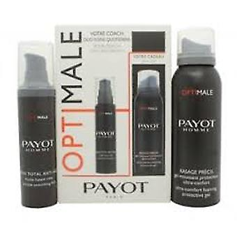 Payot Homme din Coach presentförpackning 100ml korrekt Shave Foam + 50ml anti-ageing Total Care Face Cream