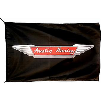 Large Austin Healey flag (black) 1500mm x 740mm  (of)