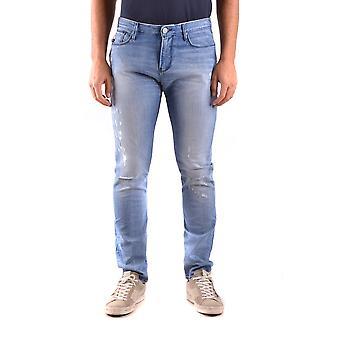 Armani Jeans Blue Cotton Jeans