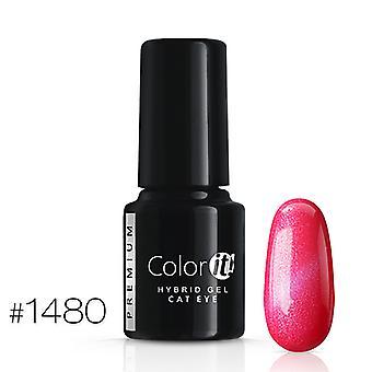 Gel Polish-kleur het Premium-Cat Eye-* 1480 UV gel/LED