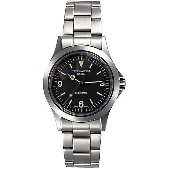 Zeno-watch mens watch military special automatic medium 5206-a1M