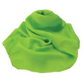 Eternelle Collection plaine chaux vert Oblong Pure mousseline de soie foulard en soie