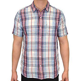 Levi's Sunset kontrollera mönster Kortärmad skjorta Maydole marskalk