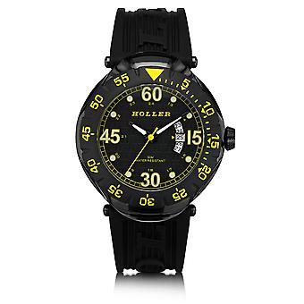 Holler Goldwax Sport Black & Yellow Watch HLW2188S-6