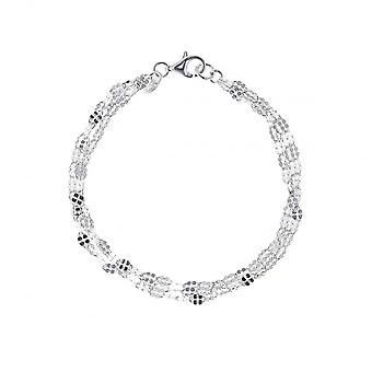 Eternity Sterling Silver Sparkle Bracelet