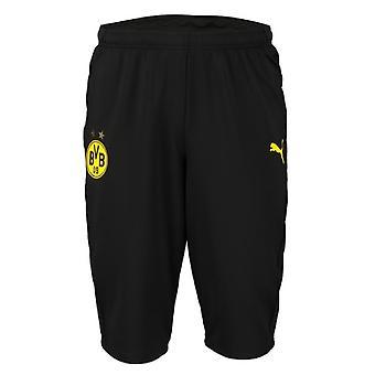 2019-2020 Borussia Dortmund Puma Pantaloni a tre quarti di lunghezza (nero)