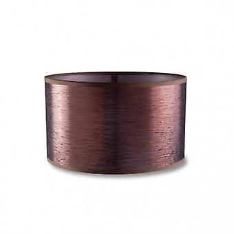 Dress Up Extra Small Round Antique Copper Finish Shade