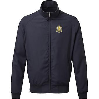 14. konger Hussars-licenseret britisk hær broderet Harrington jakke