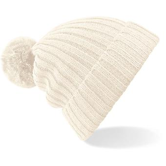 Beechfield - Arosa Fur Pom Pom Beanie Hat