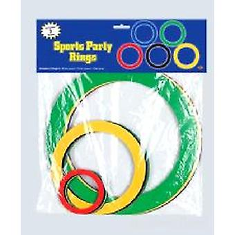 Sports Party Rings Decoration