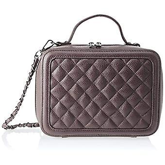 Chicca Bags 8891 Brown Women's shoulder bag (TMORO) 26x19x10 cm (W x H x L)