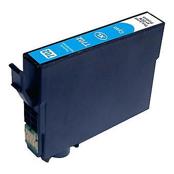 Kompatibel bläckpatron ersättning för 702XL Cyan