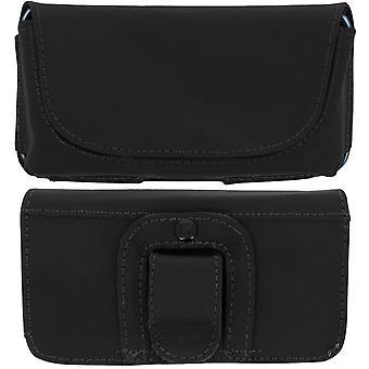 Smartphone Belt Case 5 '' Universal Clip and Loop - Black
