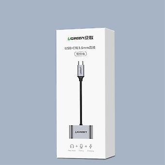 UGREEN USB typ C 3,5mm Aux Audio Laddning USB hona Port Splitter