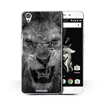 STUFF4 Case/Cover for OnePlus X/Lion/Mono Zoo Animals
