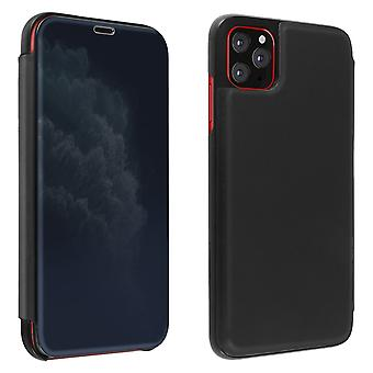 Flip Case, Mirror Case for Apple iPhone 11 Pro Max, Standing Cover - Black