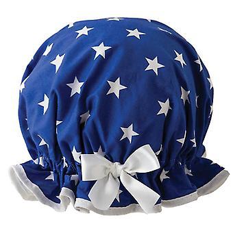 Royal Star Shower Cap